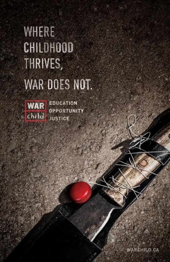 Advertising-Campaign-War-Child-Machete Advertising Campaign : War Child: Machete