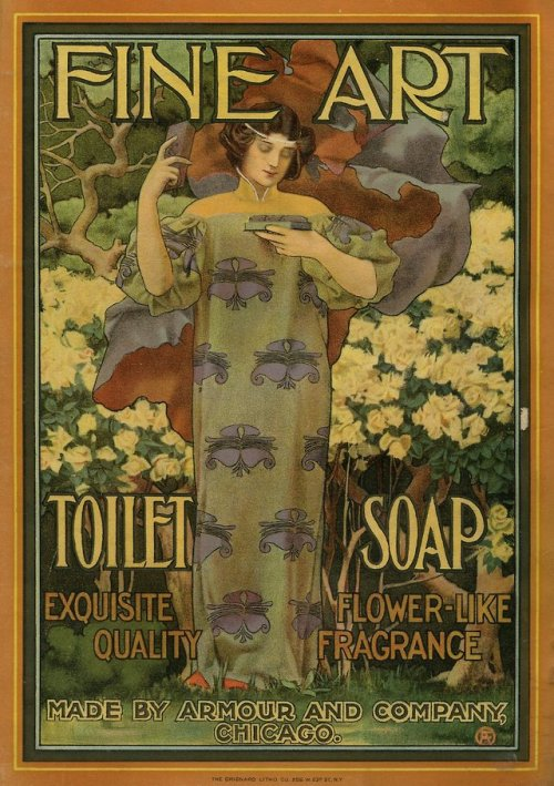 Advertising-Inspiration-Fine-Art-Toilet-Soap-1901 Advertising Inspiration : Fine Art Toilet Soap [1901]
