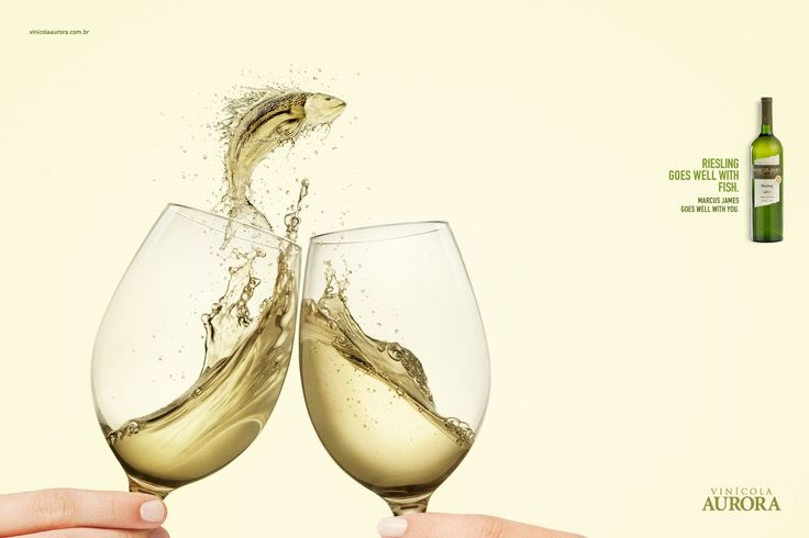 Advertising-Campaign-Riesling-goes-well-with-fish.-Marcus-james-goes-well-with-you.-Advertising-Agenc Advertising Campaign : Riesling goes well with fish. Marcus james goes well with you. Advertising Agenc...