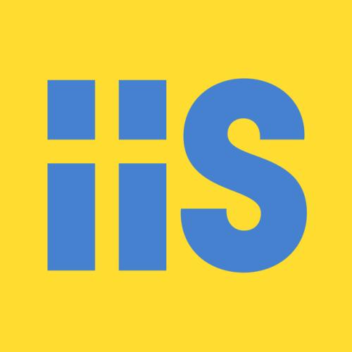 Advertising-Inspiration-IIS's-logo-with-the-Swedish-flag-hidden-in-it-Swedish Advertising Inspiration : IIS's logo with the Swedish flag hidden in it (Swedish...