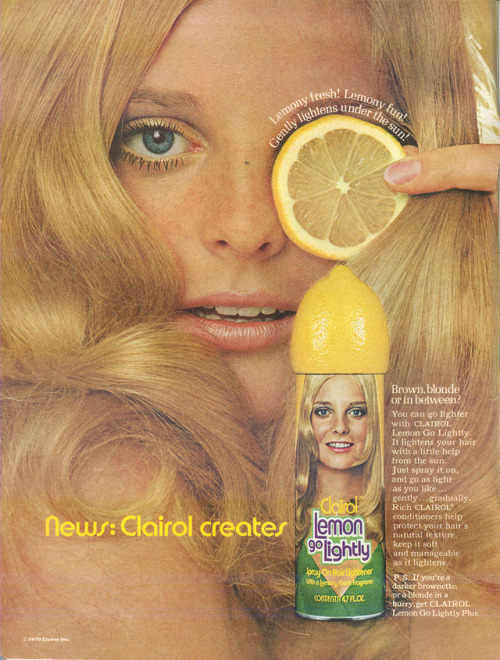 Advertising-Inspiration-Lemony-Fresh-Lemony-Fun-Gently-Lightens-Under-The-Sun Advertising Inspiration : Lemony Fresh! Lemony Fun! Gently Lightens Under The Sun!...