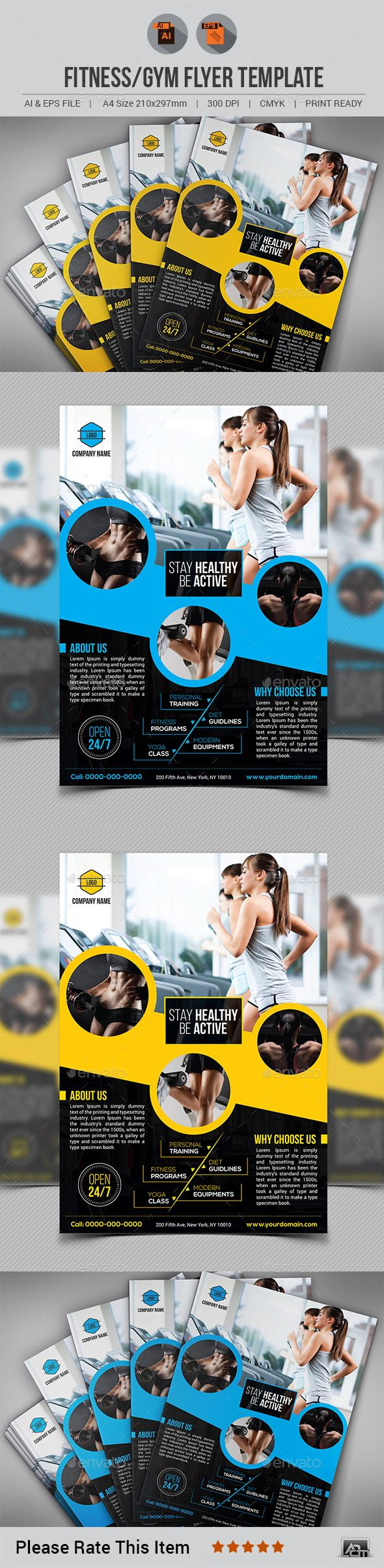 Healthcare-Advertising-Fitness-Gym-Flyer-Template-by-aam360-Similar-TemplatesINFORMATIONS-FOR-THIS-F Healthcare Advertising : Fitness / Gym Flyer Template by aam360 Similar Templates:INFORMATIONS FOR THIS F...