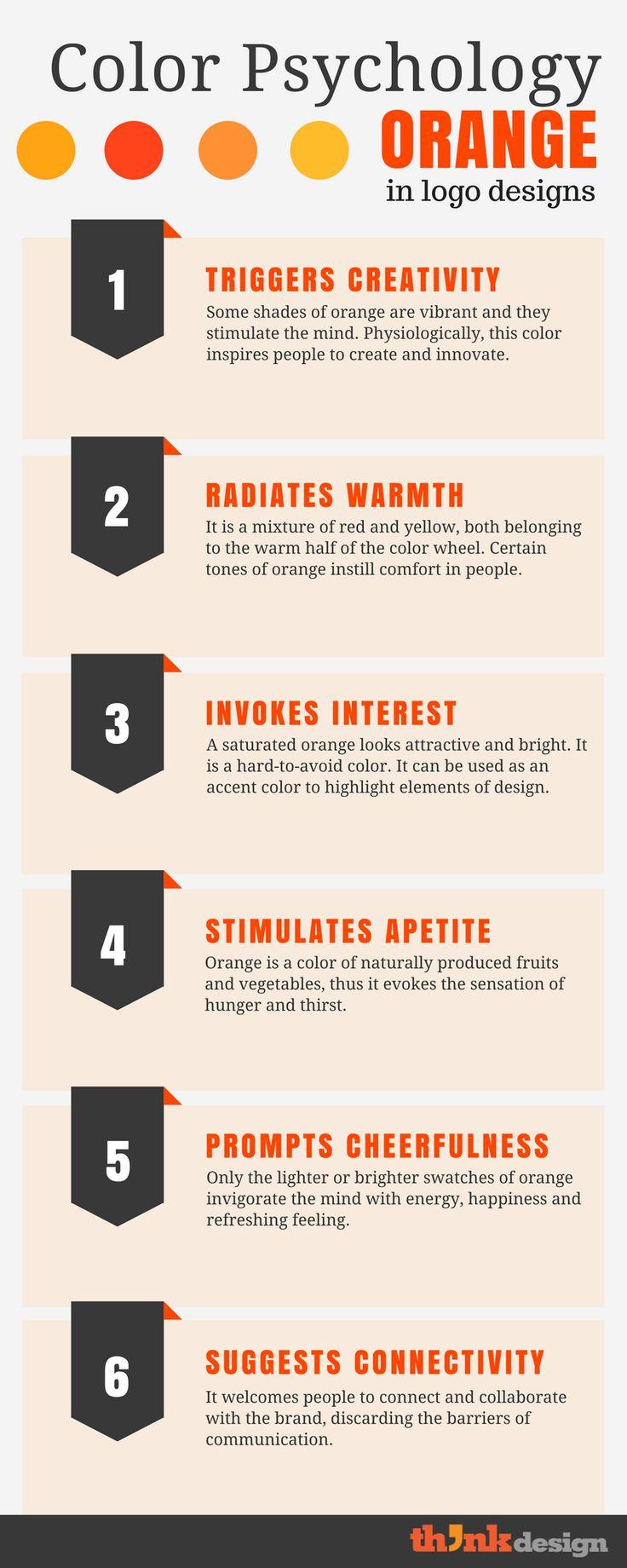Psychology-Infographic-Color-Psychology-Of-Orange-Logos-Guide-For-Branding-Noobs-–-Think-Design-Sp Psychology Infographic : Color Psychology Of Orange Logos: Guide For Branding Noobs – Think Design | Sp...