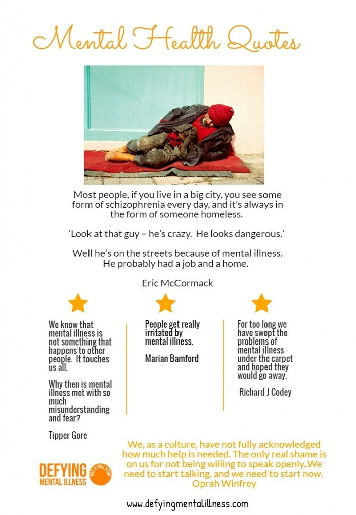Psychology Infographic : Mental Illness quotes that make us