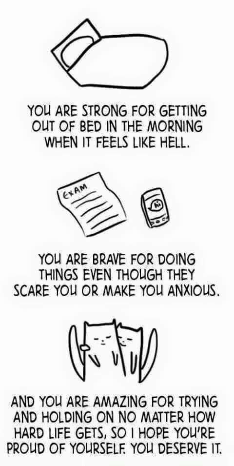 Psychology Infographic : You scream every morning when