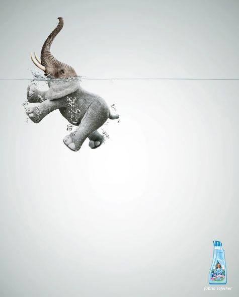 Advertising-Campaign-Lenor-fabric-softener-Elephant-Advertising-Agency-Grey-Lima-Peru-Creative Advertising Campaign : Lenor fabric softener: Elephant  Advertising Agency: Grey, Lima, Peru  Creative ...