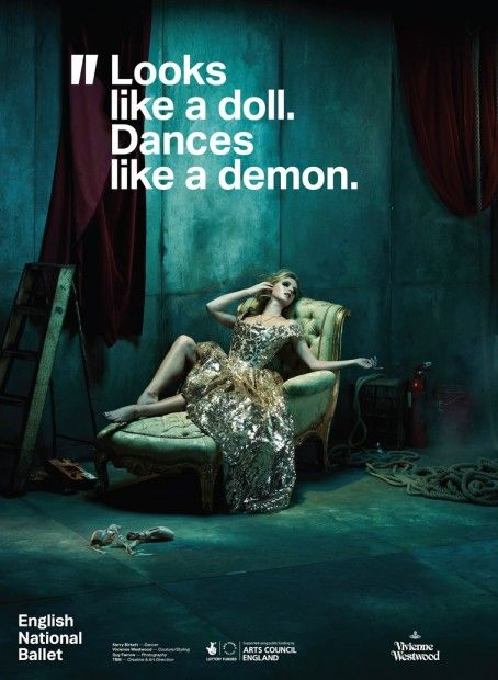 Advertising-Campaign-Looks-like-a-doll.-Dances-like-a-demon-Vivienne-Westwood-for-English-National Advertising Campaign : Looks like a doll. Dances like a demon | Vivienne Westwood for English National ...