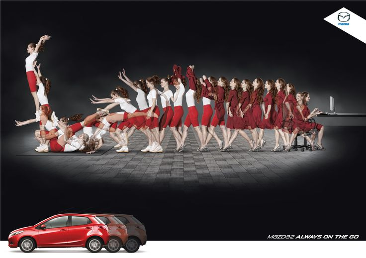 Advertising-Campaign-Mazda2-Always-on-the-go Advertising Campaign : Mazda2 Always on the go