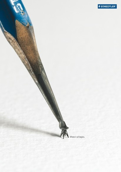 """Advertising-Campaign-Staedtler-""""Where-it-all-begins."""" Advertising Campaign : Staedtler - """"Where it all begins."""""""