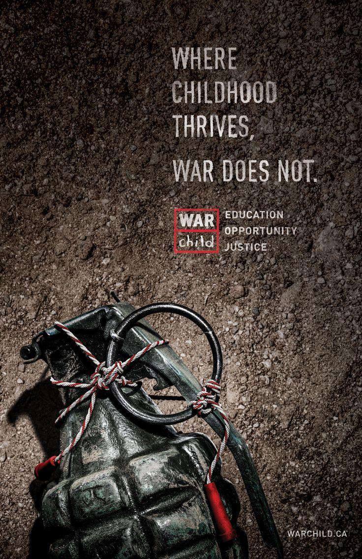 Advertising-Campaign-War-Child-Grenade Advertising Campaign : War Child: Grenade