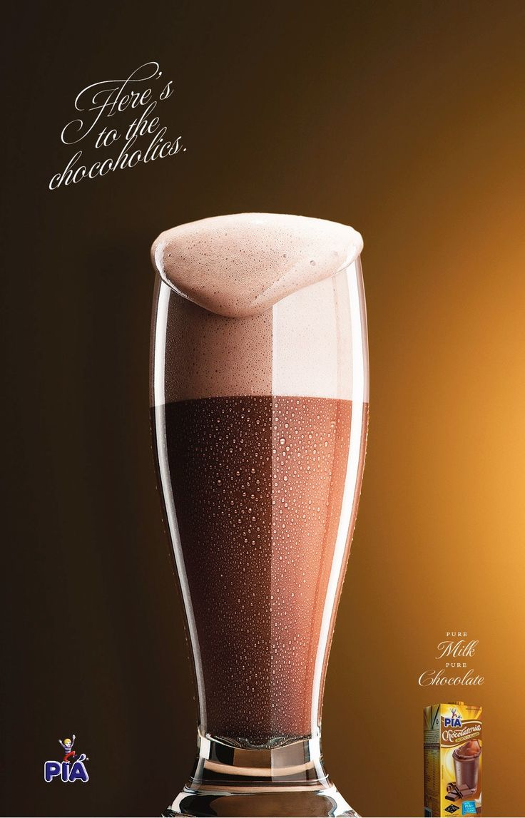 Advertising-Campaign-Piá-Chocoholics-1-Here39s-to-the-Chocoholics.-Pure-milk.-Pure-choc Advertising Campaign : Piá: Chocoholics, 1     Here's to the Chocoholics.     Pure milk. Pure choc...