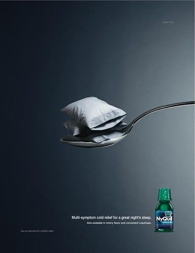 Healthcare-Advertising-NyQuil-Ad.-C.-2000s.-Publicis-Kaplan-Thaler-New-York.-Print.-I-like-the-concept Healthcare Advertising : NyQuil Ad. C. 2000s. Publicis Kaplan Thaler New York. Print. I like the concept ...