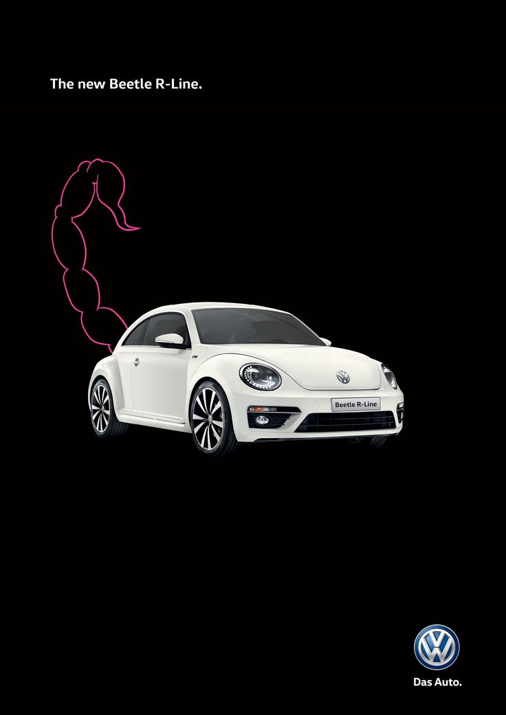 Advertising-Campaign-Adeevee-Volkswagen-Beetle-R-line-Scorpion-Snake-Shark Advertising Campaign : Adeevee - Volkswagen Beetle R-line: Scorpion, Snake, Shark
