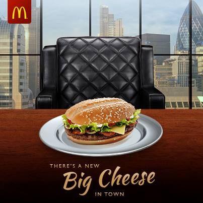Advertising-Campaign-BigCheese-McDonaldsUK-McDonalds-UK Advertising Campaign : #BigCheese #McDonaldsUK #McDonalds #UK