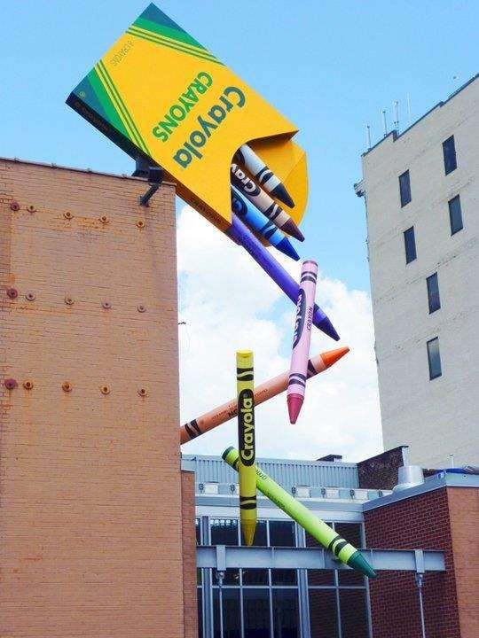 Creative-Advertising-guerilla-AD-www.facebook.com Creative Advertising : The 30 Most Colorful Buildings in the World