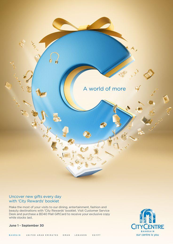 Advertising Campaign : City Centre Bahrain Retailer Booklet