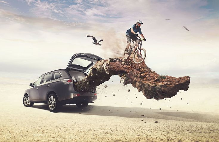 Advertising-Campaign-Outlander-Mitsubishi-Maleteras-X-on Advertising Campaign : Outlander / Mitsubishi - Maleteras X on Behance