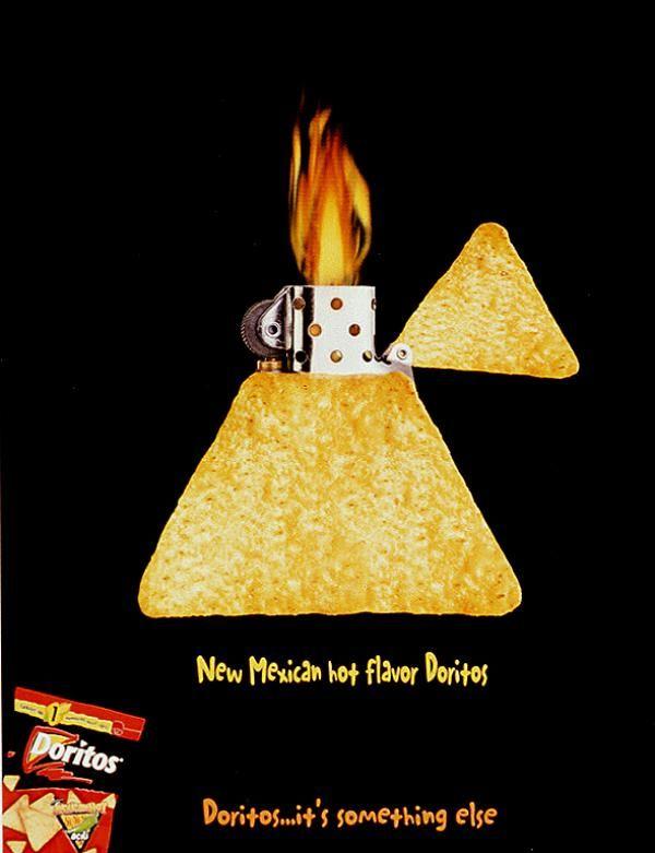 Advertising-Campaign-doritos-snack-food-print-ad Advertising Campaign : doritos-snack-food-print-ad