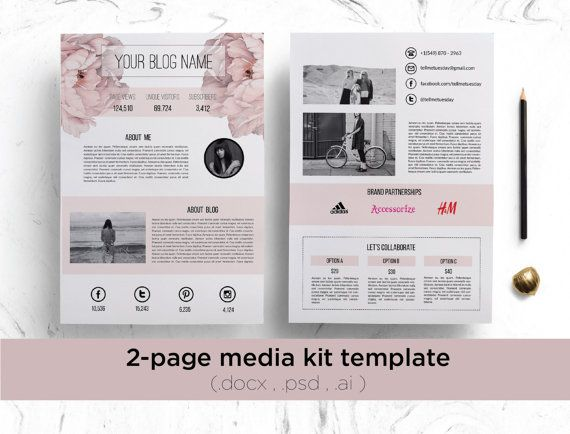 Creative Advertising 2 Page Media Kit Template Floral Media Kit Press Kit Custom Media Kit Social Media Kit Blog Media Kit Creative Media Kit Modern Media Kit Advertisingrow Com Home Of Advertising Professionals Advertising News Infographics