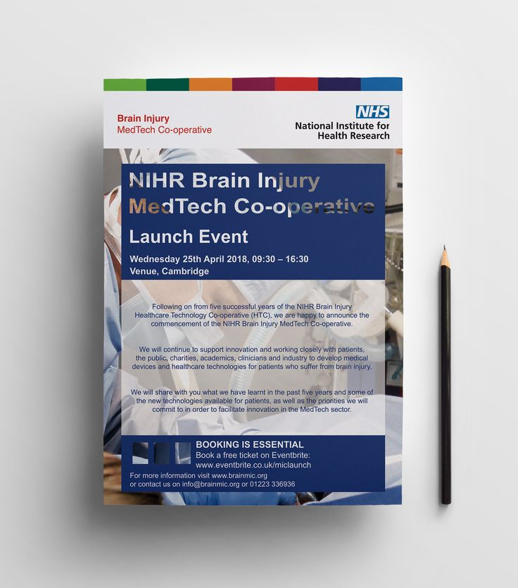 Healthcare-Advertising-The-NIHR-Brain-Injury-MedTech-Co-operative-is Healthcare Advertising : The NIHR Brain Injury MedTech Co-operative is dedicated to identifying areas of ...