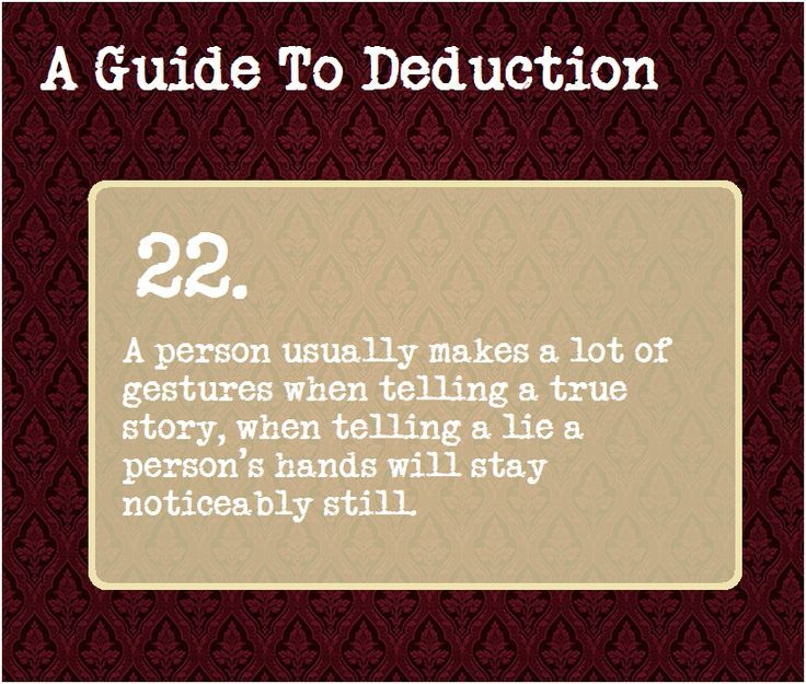 Psychology-Infographic-A-Guide-To-Deduction-22 Psychology Infographic : A Guide To Deduction #22