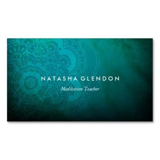 Psychology-Infographic-Turquoise-Blue-Mandala-Zen-Business-Card Psychology Infographic : Turquoise Blue Mandala Zen Business Card | Zazzle.com