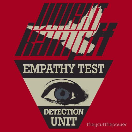 Psychology-Infographic-Voight-Kampff-Empathy-Test-Unisex-T-Shirt Psychology Infographic : Voight-Kampff Empathy Test | Unisex T-Shirt