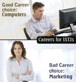 Infographic : Career Advice for People with ISTJ Personality