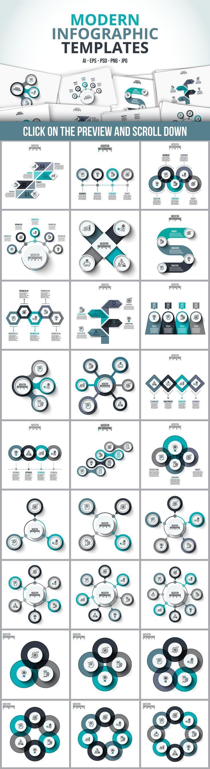 Advertising-Infographics-Infographic-templates-bundle-creative-business-marketing Advertising Infographics : Infographic templates bundle - creative business, marketing design template -by ...