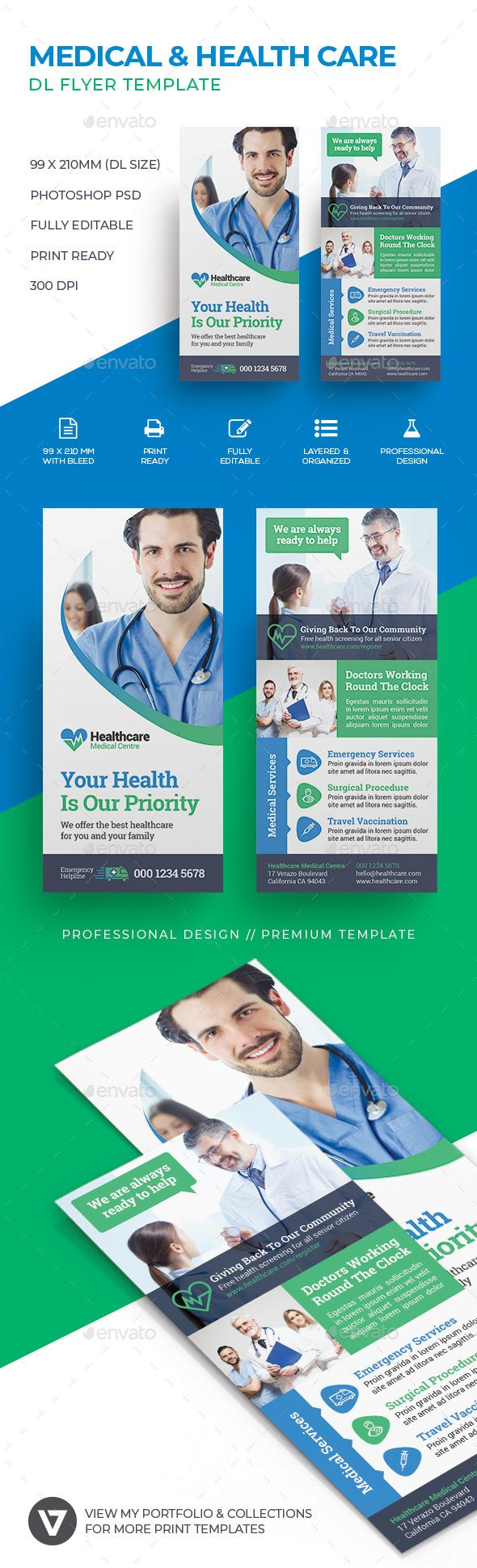 Healthcare-Advertising-Medical-DL-Flyer-Corporate-company-business Healthcare Advertising : #Medical #DL #Flyer #Corporate #company #business
