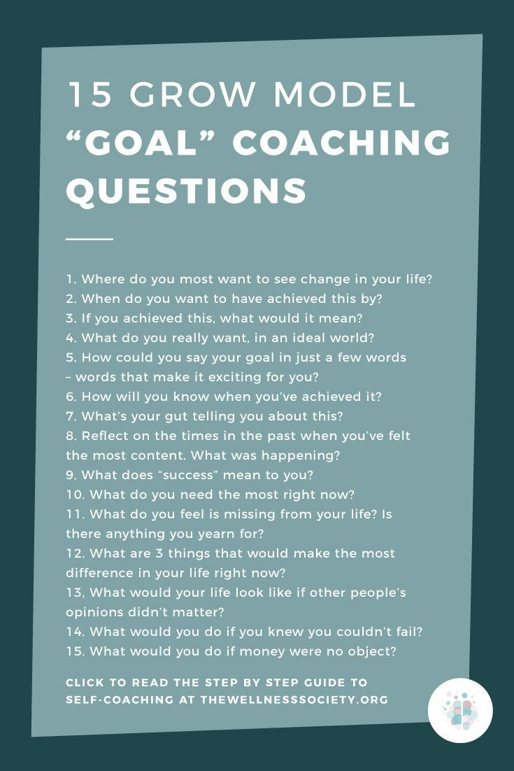 Psychology-Infographic-15-GROW-model-goal-coaching-questions-coachingmodels Psychology Infographic : 15 GROW model 'goal' coaching questions #coachingmodels #coachingtools #coaching...