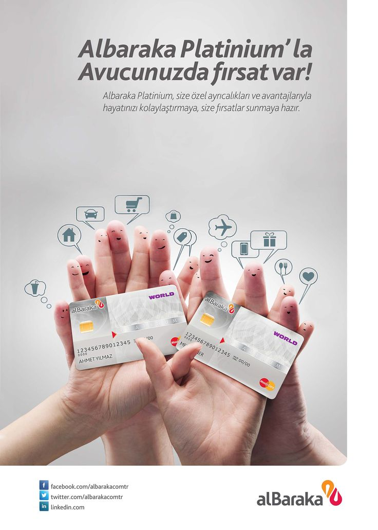 Creative-Advertising-Fatih-Ozturk-Albaraka-Bank-Platinium-Card Creative Advertising : Fatih Öztürk - Albaraka Bank Platinium Card Advertising