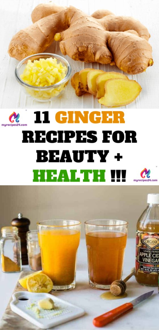 Creative Advertising : 11 GINGER RECIPES FOR BEAUTY + HEALTH