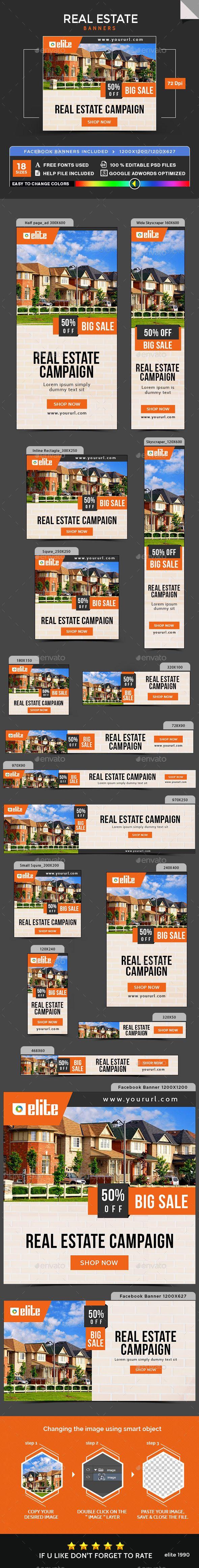 Advertising-Infographics-Real-Estate-Banners Advertising Infographics : Real Estate Banners