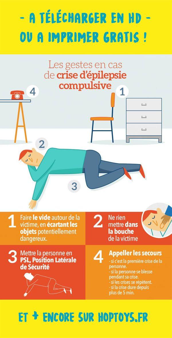 Psychology-Infographic-Infographie-les-gestes-en-cas-de Psychology Infographic : Infographie : les gestes en cas de crise d'épilepsie