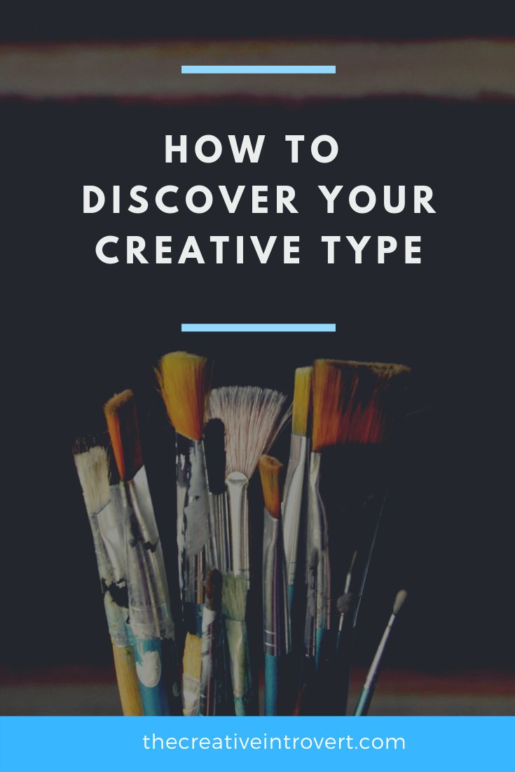 Infographic-How-to-discover-your-Creative-Type Infographic : How to discover your Creative Type