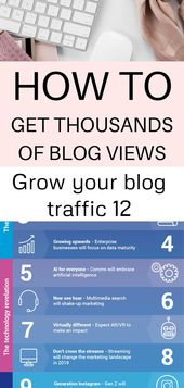 Advertising-Infographics-Grow-your-blog-traffic-12 Advertising Infographics : Grow your blog traffic 12