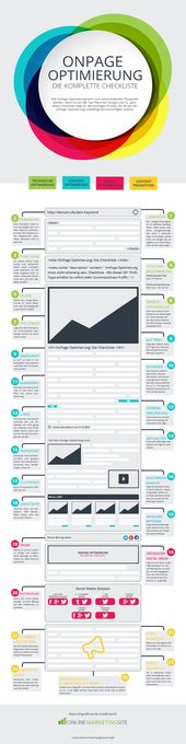 Advertising-Infographics-OnPage-Optimierung-die-Checkliste Advertising Infographics : OnPage Optimierung - die Checkliste