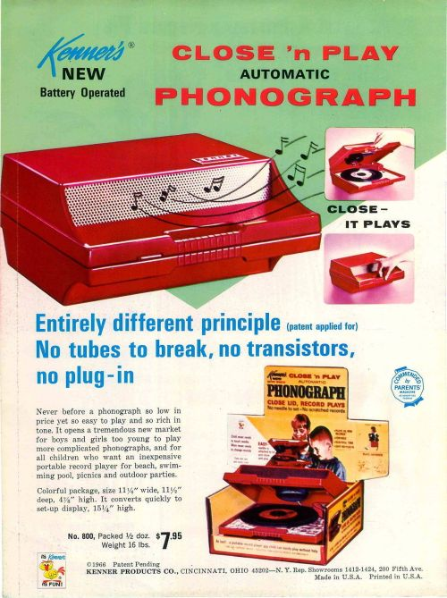 Advertising-Inspiration-Kenner's-New-Battery-Operated-Close-'n-Play Advertising Inspiration : Kenner's New Battery Operated Close 'n Play...
