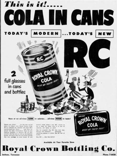 Advertising-Inspiration-RC-Cola-ad-1955Source Advertising Inspiration : RC Cola ad (1955)Source:...