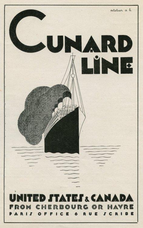 Advertising-Inspiration-Cunard-Line-1930-1360-x-2164Source Advertising Inspiration : Cunard Line [1930; 1360 x 2164]Source:...