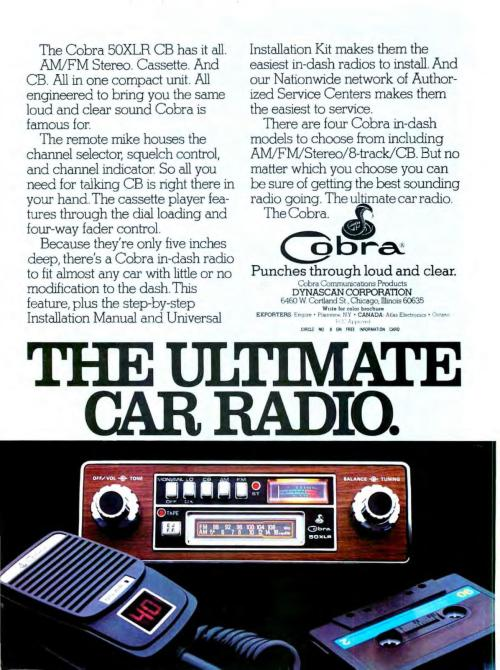 Advertising-Inspiration-The-Ultimate-Car-Radio-Cobra-ad Advertising Inspiration : The Ultimate Car Radio - Cobra ad from May 1978 for an...