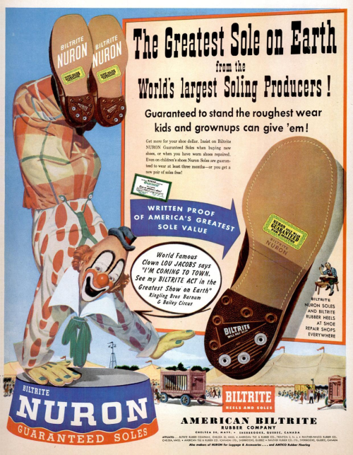 """Advertising-Inspiration-""""The-Greatest-Sole-on-Earth""""-Biltrite-Nuron Advertising Inspiration : """"The Greatest Sole on Earth"""", Biltrite Nuron Soles,..."""