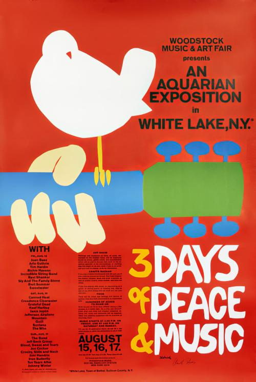Advertising-Inspiration-3-Days-of-Peace-amp-Music-– Advertising Inspiration : 3 Days of Peace & Music – Woodstock 1969Source:...