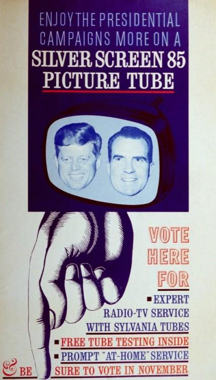 Advertising-Inspiration-Enjoy-the-Presidential-campaigns-more-on-a Advertising Inspiration : Enjoy the Presidential campaigns more on a Silver Screen 85...