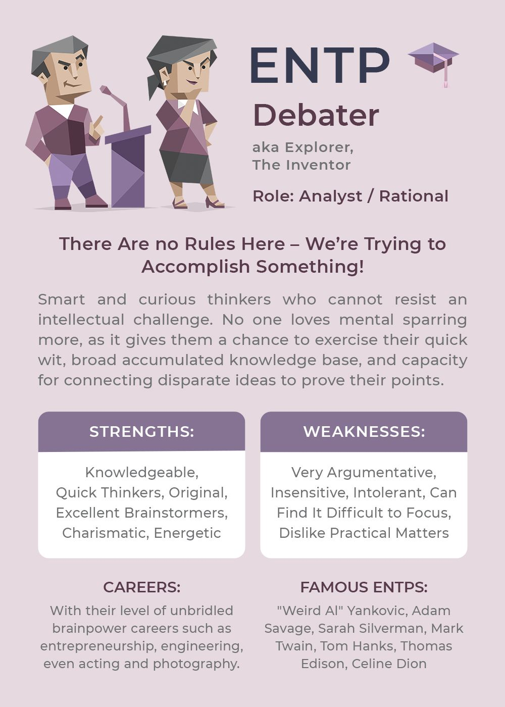 Infographic-ENTP-Personality-Type Infographic : ENTP Personality Type