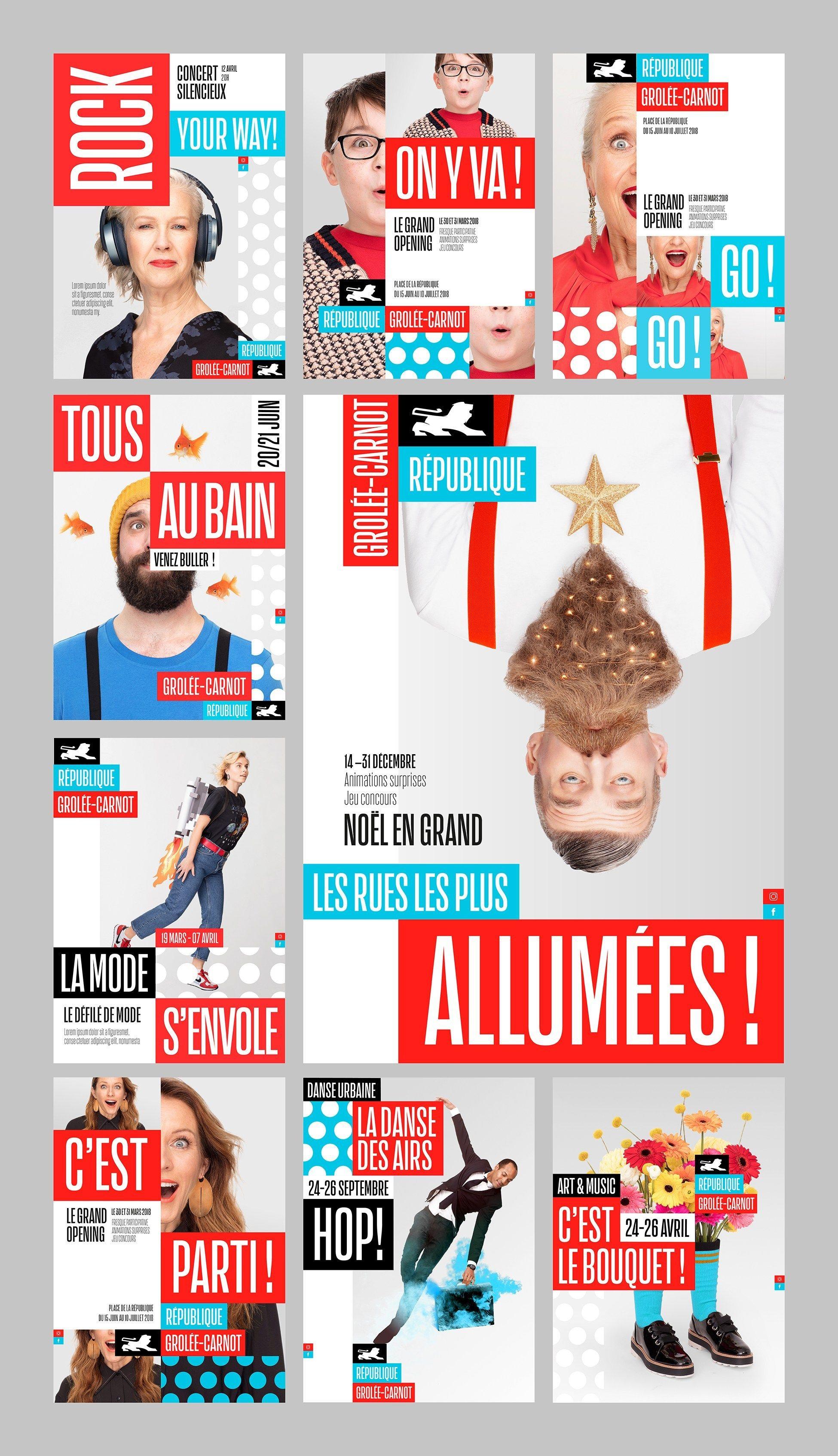 Advertising-Infographics-Republique-Grolee-Carnot-Identite-visuelle Advertising Infographics : République - Grolée-Carnot - Identitévisuelle