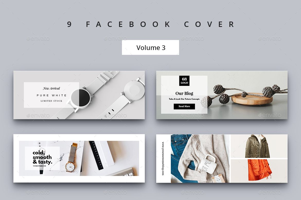 Advertising-Infographics-Facebook-Cover-Vol-3 Advertising Infographics : Facebook Cover Vol. 3
