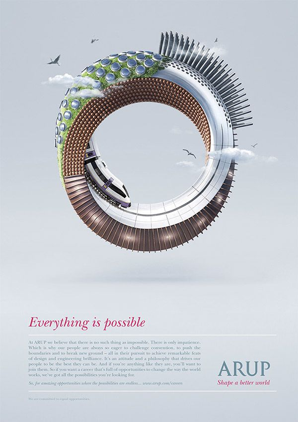 Advertising-Infographics-Everything-is-possible Advertising Infographics : Everything is possible