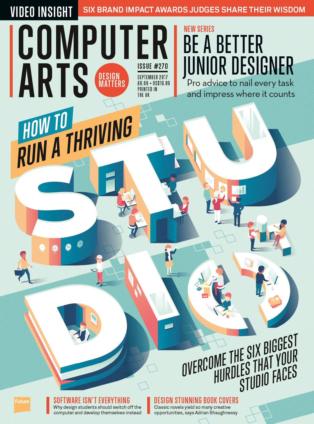 Advertising-Infographics-Run-a-thriving-design-studio-with-the Advertising Infographics : Run a thriving design studio with the new Computer Arts